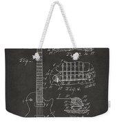 1955 Mccarty Gibson Les Paul Guitar Patent Artwork - Gray Weekender Tote Bag