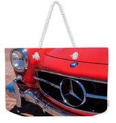 1955 Mercedes-benz 300sl Gullwing Grille Emblems Weekender Tote Bag