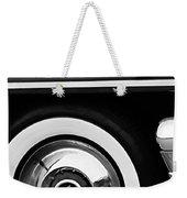 1955 Mercury Montclair Convertible Wheel Emblem Weekender Tote Bag