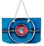 1955 Mercury Monterey  Emblem Weekender Tote Bag