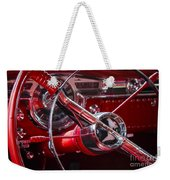 1955 Oldsmobile Dash Weekender Tote Bag