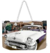 1955 Oldsmobile Super 88 Weekender Tote Bag