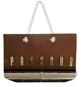 1955 Packard 400 Hood Ornament Weekender Tote Bag