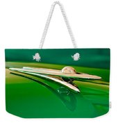 1955 Packard Clipper Hood Ornament 3 Weekender Tote Bag