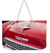1955 Red Chevy Weekender Tote Bag