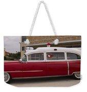 1955 Superior Cadillac Passenger Ambulance Weekender Tote Bag