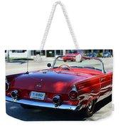 1955 T-bird Weekender Tote Bag by Laura Fasulo