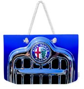 1956 Alfa Romeo Sprint Veloce Coupe Ultra Light Grille Emblem Weekender Tote Bag