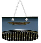 1956 Austin-healey Grill Hood Ornament Weekender Tote Bag