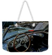 1956 Austin Healey Interior Weekender Tote Bag
