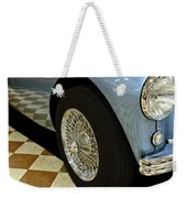 1956 Austin Healey Wheel Weekender Tote Bag