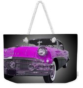 1956 Buick Special Riviera Coupe-purple Weekender Tote Bag
