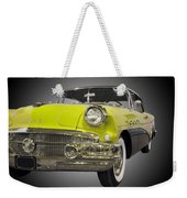 1956 Buick Special Riviera Coupe-yellow Weekender Tote Bag