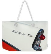 1956 Chevrolet Belair Coupe Taillight Weekender Tote Bag