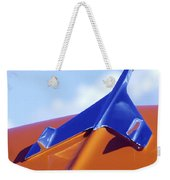 1956 Chevrolet Belair Hood Ornament Weekender Tote Bag