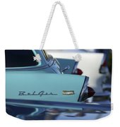 1956 Chevrolet Belair Nomad Rear End Weekender Tote Bag