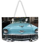 1956 Chevy Bel-air Weekender Tote Bag