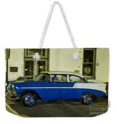 1956 Chevy Bel Air Weekender Tote Bag