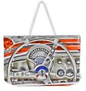 1956 Chevy Corvette Dash Wowc Weekender Tote Bag