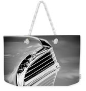 1956 Ford Thunderbird Hood Scoop -287bw Weekender Tote Bag