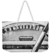 1956 Ford Thunderbird Steering Wheel -260bw Weekender Tote Bag