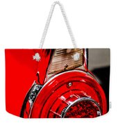 1956 Ford Thunderbird Taillight -247c Weekender Tote Bag