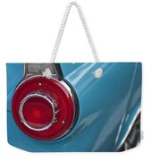 1956 Ford Thunderbird Taillight And Emblem Weekender Tote Bag
