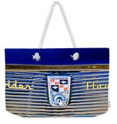 1956 Studebaker Golden Hawk Emblem Weekender Tote Bag