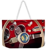 1956 Volkswagen Vw Karmann Ghia Coupe Steering Wheel 2 Weekender Tote Bag
