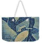 1957 America And Steel Growing Together Stamp Weekender Tote Bag