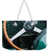1957 Aston Martin Dbr2 Steering Wheel Weekender Tote Bag