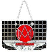 1957 Aston Martin Owner's Club Emblem Weekender Tote Bag