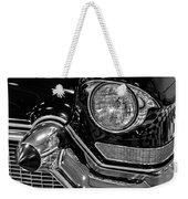 1957 Cadillac Coupe De Ville Headlight Weekender Tote Bag