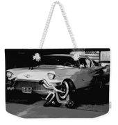 1957 Cadillac Weekender Tote Bag