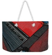1957 Chevrolet Bel Air Weekender Tote Bag