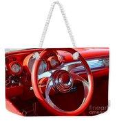 1957 Chevrolet Bel Air Steering Wheel Weekender Tote Bag