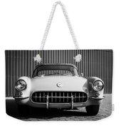 1957 Chevrolet Corvette -0010bw Weekender Tote Bag