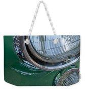 1957 Chevrolet Corvette Head Light Weekender Tote Bag