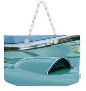 1957 Chevrolet Corvette Scoop Weekender Tote Bag