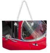 1957 Chevy Bel Air Chrome Weekender Tote Bag