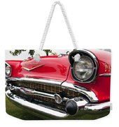 1957 Chevy Bel Air Front End Weekender Tote Bag