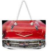 1957 Chevy Front End Weekender Tote Bag