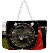 Old Car Headlight Weekender Tote Bag
