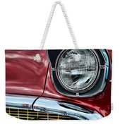 1957 Chevy - My Classic Car Weekender Tote Bag