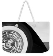 1957 Corvette Wheel Weekender Tote Bag