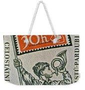 1957 Czechoslovakia Stamp Weekender Tote Bag