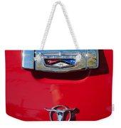 1957 Ford Custom 300 Series Ranchero Emblem Weekender Tote Bag