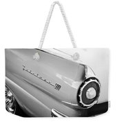 1957 Ford Fairlane 500 Taillight Emblem Weekender Tote Bag