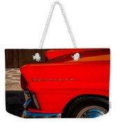 1957 Ford Fairlane Emblem -359c Weekender Tote Bag