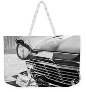 1957 Ford Fairlane Grille -107bw Weekender Tote Bag